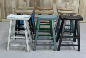 Solid Wood High Stool Manufacturer Wholesale Hotel Hotel Restaurant Furniture (M-X3622) pictures & photos