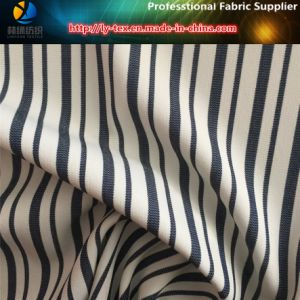 Polyester Spandex Yarn Dyed Stripe Fabric for Trousers, Y/D Stripe (YD1121) pictures & photos
