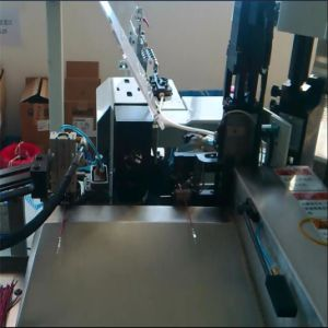 Automatic Enamel Wire Stripping Soldering Twisting Machine pictures & photos