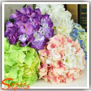 Wedding Decorative Artificial Silk Hydrangea Flower pictures & photos