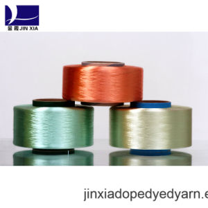 FDY Dope Dyed 200d/72f Filament Polyester Yarn pictures & photos