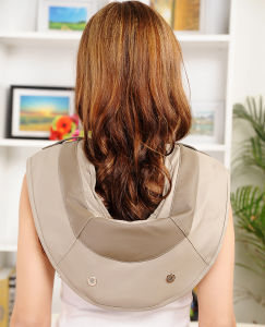 Tapping Kneading Heating Shoulder and Neck Massage Belt pictures & photos