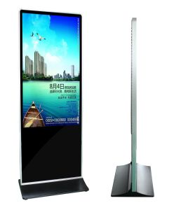 55 Inch Indoor Totem LCD Display with IR Touch pictures & photos