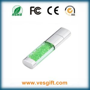 Jewelry Crystal USB Flash Drive for Gifts pictures & photos