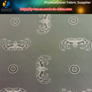 Devil Flower Jacquard, Polyester Jacquard Fabric, Twill Fabric for Lining (20) pictures & photos