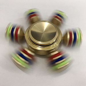 Metal Alloy Brass Rolling Bearing Hand Fidget Spinner Toys Cube pictures & photos