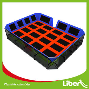Trampoline Manufacturing Customized Commercial Big Indoor Trampoline pictures & photos