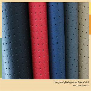 Tc Backing Sofa PU Leather Fabric