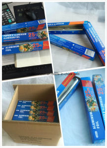 8011 O Temper 11 Microns 305mm Width Household Aluminium Foil pictures & photos