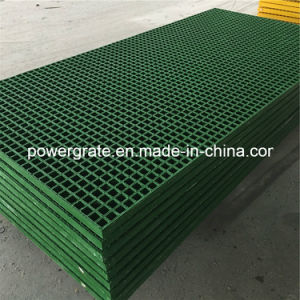 Gritted Surface FRP/GRP Fiberglass Grating pictures & photos