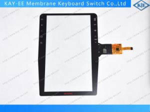 "12 "" Multi Touch Capacitive Type P+G Touch Screen Panel with IC pictures & photos"