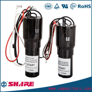 Hard Start Kit Capacitor for Refrigerators Capacitor and Air Conditioner Capacitor pictures & photos