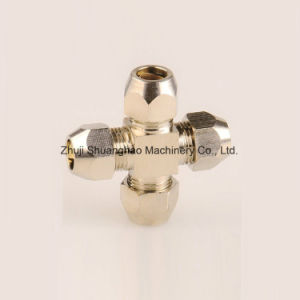 Fine Brass Hose Connector Hydraulic Fitting pictures & photos