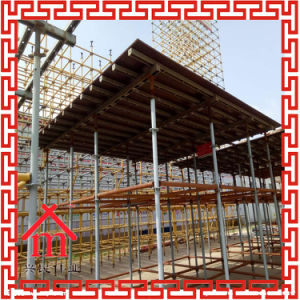 Testing Ring-Lock System Scafold, Steel Ring Lock Scaffolding pictures & photos