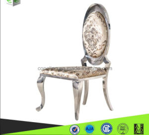 Modern Design Stainless Steel Fancy Dining Chair for Wedding Furniture pictures & photos