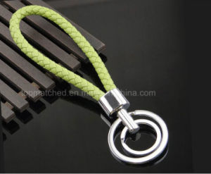 New Custom Simple Design Braided Rope Handmade Keyring pictures & photos