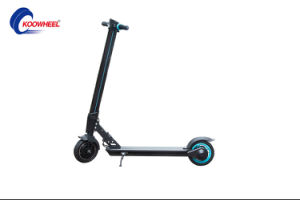 24V 250W Carbon Fiber/Aluminum Alloy Balance Skateboard Foldable Electric Scooter pictures & photos