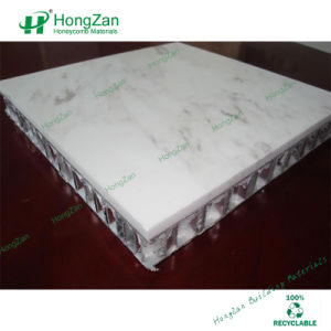 Carrara White Marble Honeycomb Panel pictures & photos