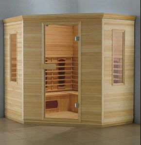 1000mm Spruce Wood Sauna for Single Persons (AT-8612) pictures & photos