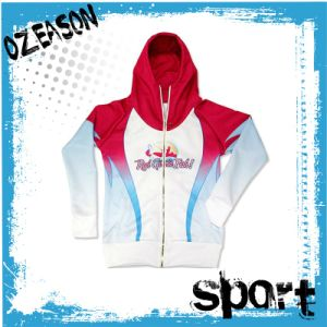 Manufacturer Cusotm UV Cut Women′s Fishing Jersey with Hood (F026) pictures & photos