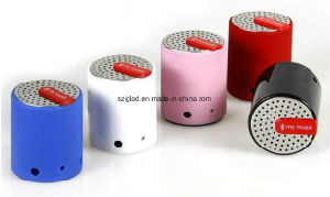Hands Free Drum Shape Stereo Bass Blue Tooth Speaker pictures & photos