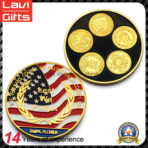 High Quality Colorful Metal Souvenir Coin pictures & photos
