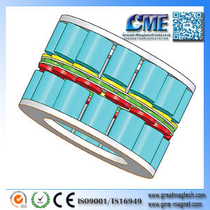 Disc Magnet Motor Magnet Usage Cylindrical Magnet Uses pictures & photos