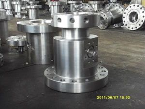 AISI 4340(34CrNiMo6, 1.6582, SAE 4340)Forged Forging Steels Christmas Trees wellhead Spool Body Bodies Blocks pictures & photos