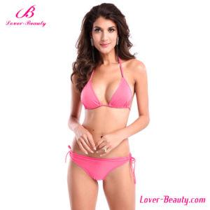 Pink Push up Sexy Mature Bikini Swimwear
