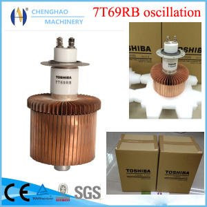 High Stability Crystal Triode Tube High Frequency Toshiba 7t69rb Oscillator Tube with Ce