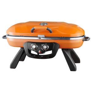 Outdoor Portable Foldable Camping Gas Barbecue Grill BBQ pictures & photos