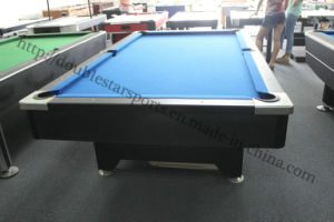 Wooden MDF Standing Billiard Table Pool Table pictures & photos
