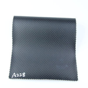 2017 Newest Punching Concavo-Convex Synthetic Leather for Car Car Seat (A228) pictures & photos
