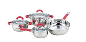 7 PCS Silica Gel Cookware Set pictures & photos