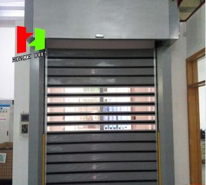 High Speed Steel Door Aluminium Profile (Hz-FC045) / Garage Dier Clubhaus pictures & photos