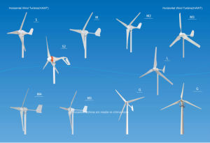 50W Horizontal 3 Blades Mini Windmill (SHJ-50S) pictures & photos