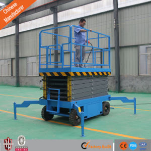 18m Mobile Hydraulic Scissor Lift pictures & photos