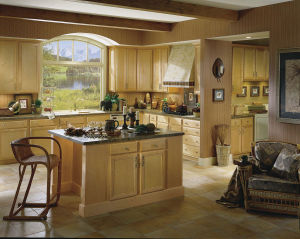 Home Furniture Solid Wood Kitchen Cabinet, Kitchen Furniture pictures & photos