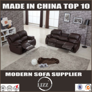Modern Wooden Frame Recliner   Sofa of Living Room Furniture pictures & photos