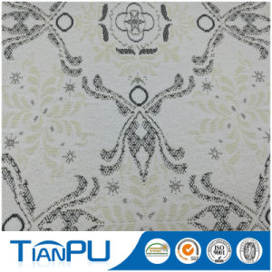 180-550GSM Customized Jacquard Logo Available Fire Retarded (other treatment available) Mattress Ticking Fabric Tp225 pictures & photos