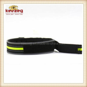 Pet Products Adjustable Reflective Pet Collar with Dog Collar (KC0113) pictures & photos