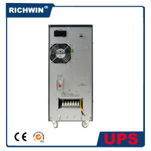 6kVA~10kVA Pure Sine Wave High Frequency Online UPS with Inbuilt Battery pictures & photos