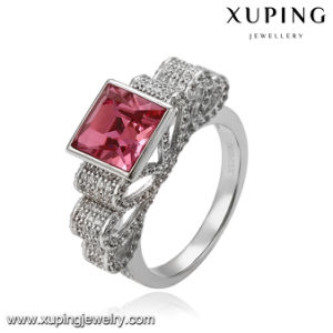 14266 Free Sample Latest Women Wedding Ring with Crystals From Swarovski Jewelry pictures & photos
