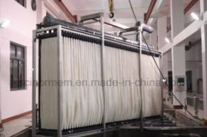 Hollow fiber submerged MBR membrane pictures & photos