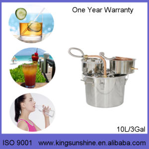 Kingsunshine 10L/3gal Stainless Steel Distillation Equipment, Household Alcohol/Water Distiller pictures & photos