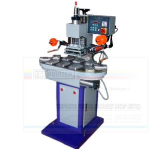 Tam-168c Pneumatic Carousel Continuous Hot Stamping Machine pictures & photos