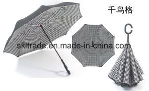 New Fashion Portable Handsfree Straight Reverse Inverted Umbrella for Car
