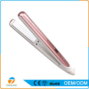 Ceramic Plate Professional Hair Straightener 2 in 1 Hair Curling and Hair Flat Iron pictures & photos