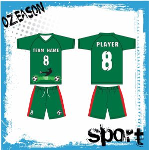 Wholesale Plain Kids Custom Sublimation Soccer Jersey Free Sample pictures & photos