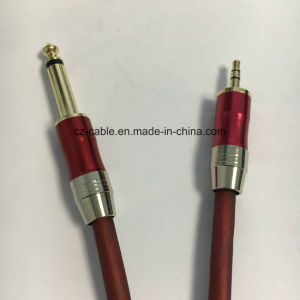 3.5mm Stereo Phone Plug to 6.35mm Cable pictures & photos